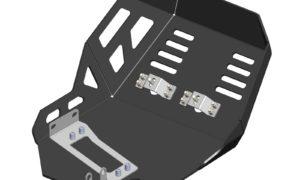 A040361 - Honda Bash Plate Black