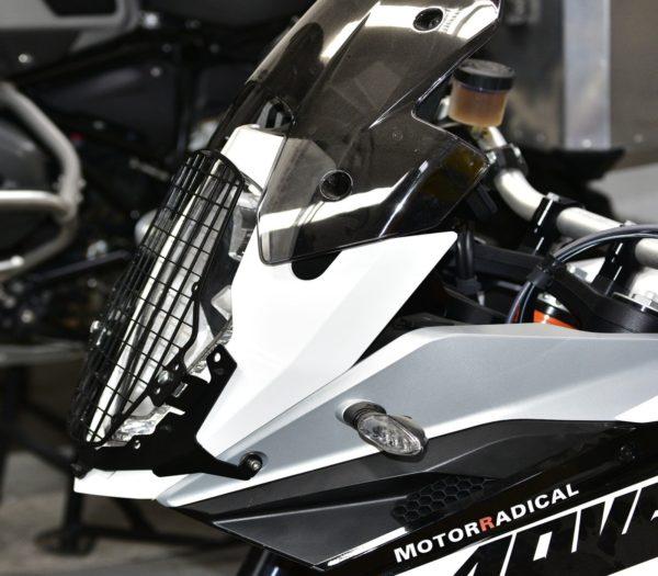 A080271 - KTM Head Light Guard - Mesh Type Black