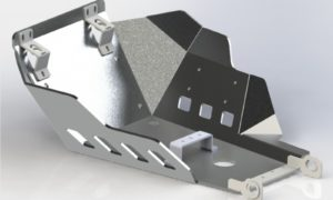 A080200 - KTM Bash Plate - Anodized