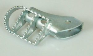 A090070 - All Model GS Wide Foot Pegs - Stainless