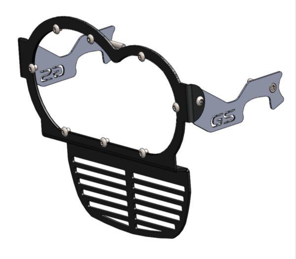 A090220 - BMW Headlight & Oil Cooler Radiator Guard