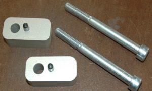 A090370 - BMW Handlebar Raisers - 20mm