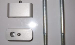 A090372 - BMW Handlebar Raisers - 30mm