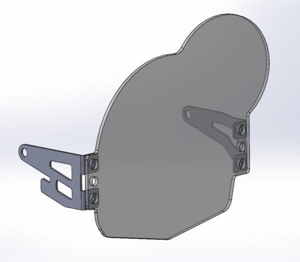 A090840 - BMW Head Light Guard - Polycarbonate Clear Lens
