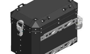 A120901 - Motorradical Pannier LH - Black (Pannier Frame Required)