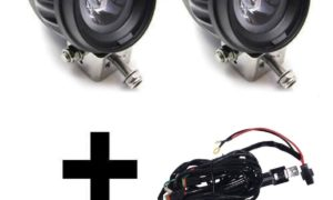 A010105 - LED Spotlight Kit with Wiring Harness & Switch