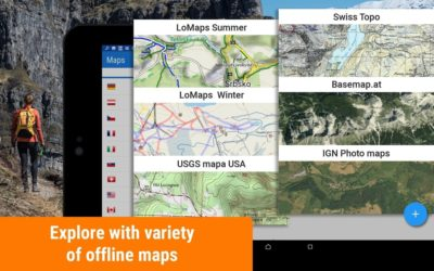 Using offline maps on your mobile